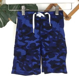 Hanna Andersson | Blue Camo Boy Swim Shorts 4 100